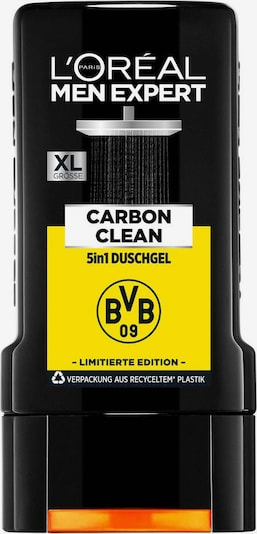 L'Oréal Paris men expert Duschgel 'Carbon Clean 5in1 mit Karbon BVB Edition' in weiß, Produktansicht