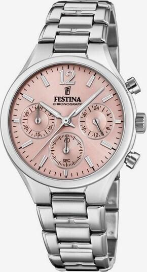 FESTINA Chronograph 'Boyfriend, F20391/2' in rosa / silber, Produktansicht