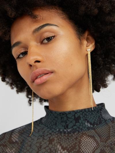 EDITED Ohrringe 'Gura' in gold, Modelansicht