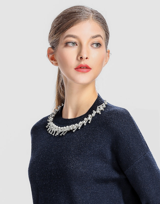 APART Pullover mit dekorativen Elementen