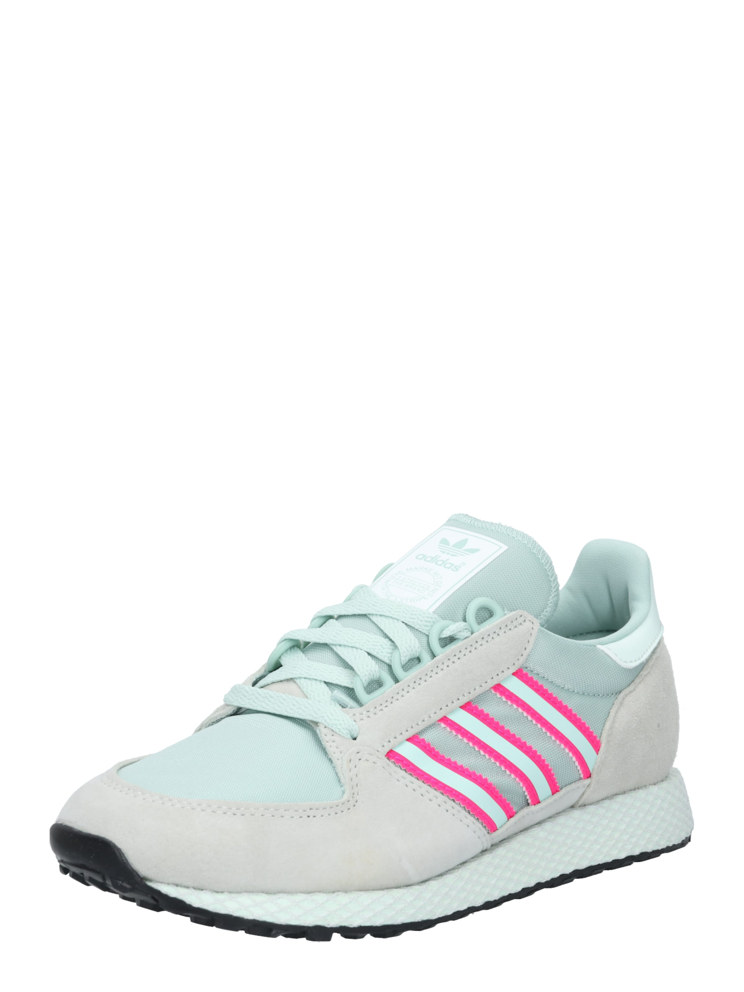 ADIDAS ORIGINALS Sneakers laag Forest Grove in Mintgroen / Pink Leer Ado2127001000001