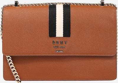 DKNY Torba na ramię 'Liza-Med' w kolorze brązowy / czarny / białym, Podgląd produktu