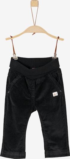 s.Oliver Junior Cord-Hose in schwarz, Produktansicht