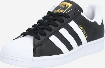 fekete / fehér ADIDAS ORIGINALS Rövid szárú edzőcipők 'Superstar', Termék nézet