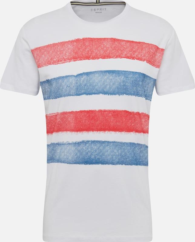 Esprit T BleuRouge Blanc shirt En jpLSGqzMVU
