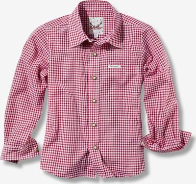 STOCKERPOINT Hemd 'Dave Jr' in rot / weiß, Produktansicht