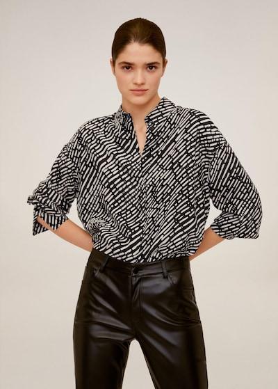 MANGO Hemd in schwarz, Modelansicht