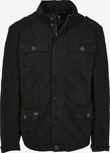Brandit Tussenjas 'Britannia' in de kleur Zwart, Productweergave