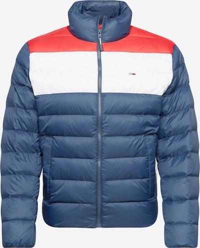 Tommy Jeans Winterjas in de kleur Blauw / Rood / Wit, Productweergave