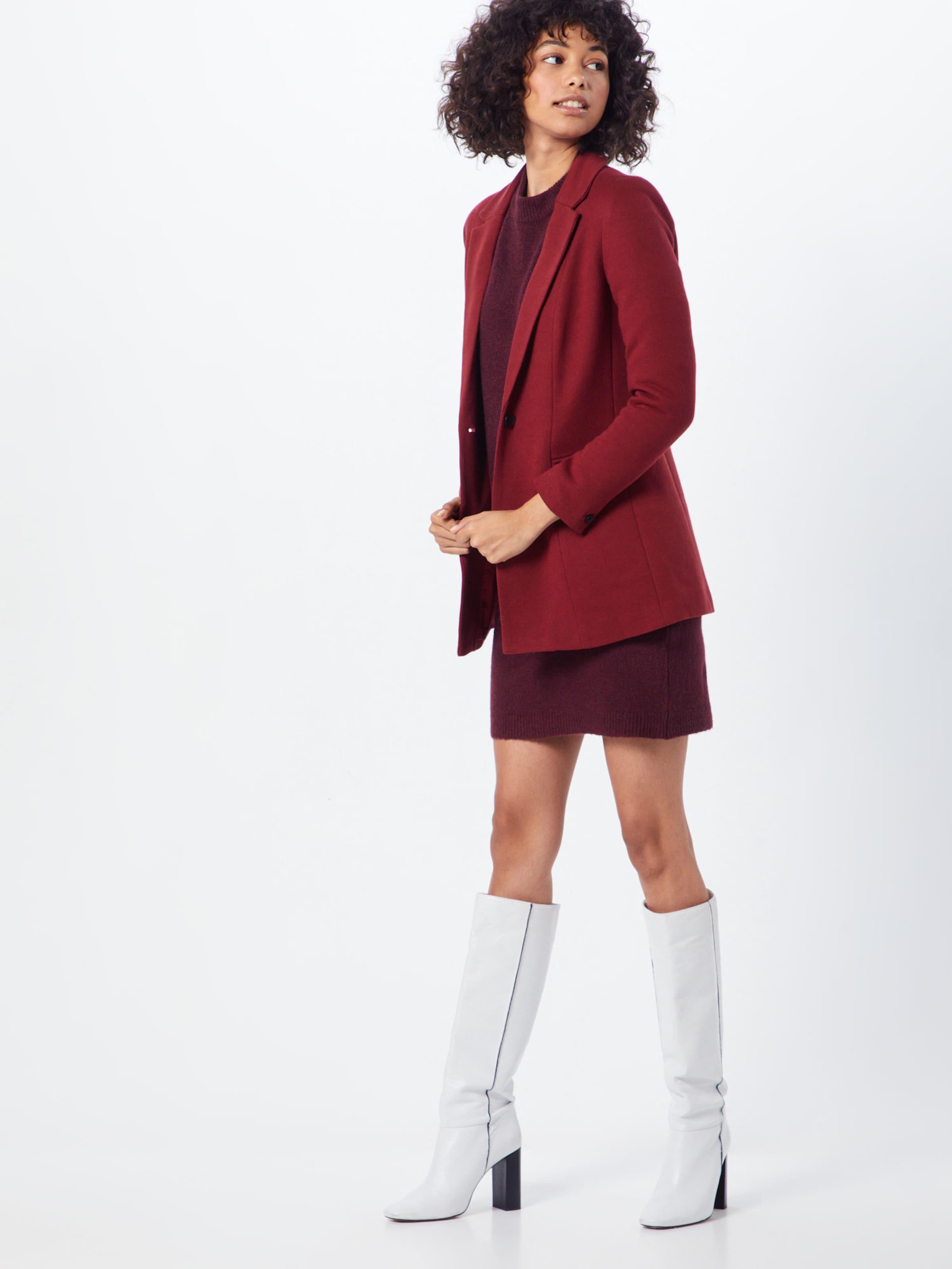 In 'objeve Object Noos' L Nonsia Dress Kleid s Weinrot Knit PkiuwXZlTO