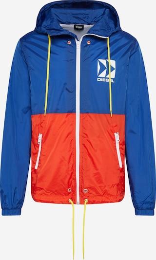 DIESEL Přechodná bunda - modrá / červená, Produkt