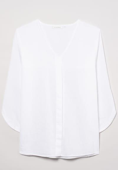 ETERNA Dreiviertelarm Bluse MODERN CLASSIC in weiß, Produktansicht