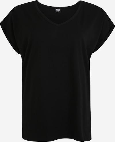 Urban Classics Curvy T-Shirt in schwarz, Produktansicht