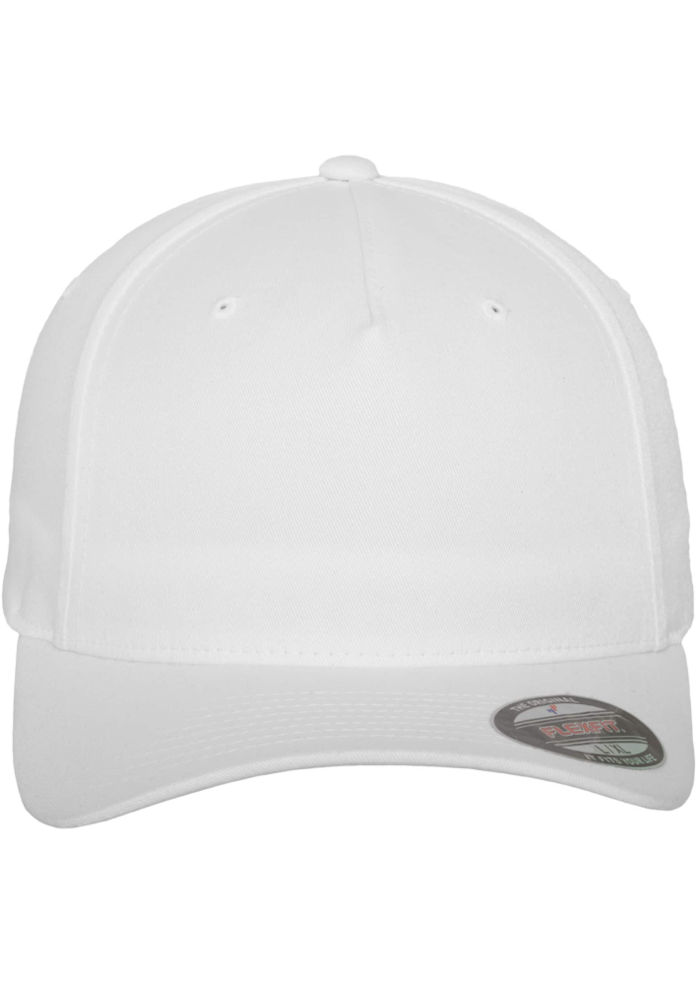 Weiß Cap Panel ' Flexfit In Flex 5 WYeEH9b2ID