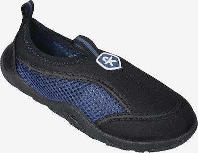 COLOR KIDS Badeschuhe 'Elina' in blau / schwarz, Produktansicht