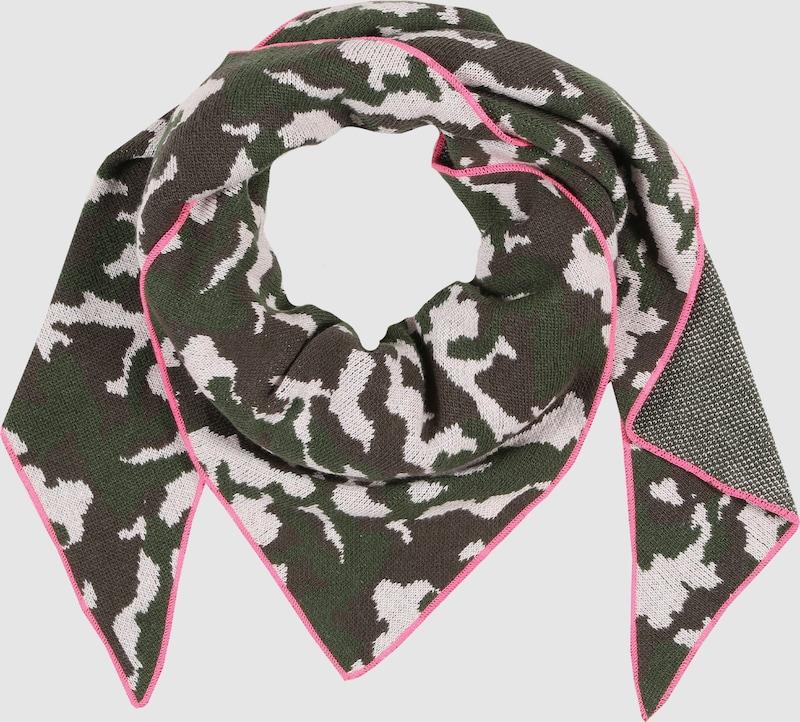 Zwillingsherz Dreieckstuch mit Camouflage-Muster