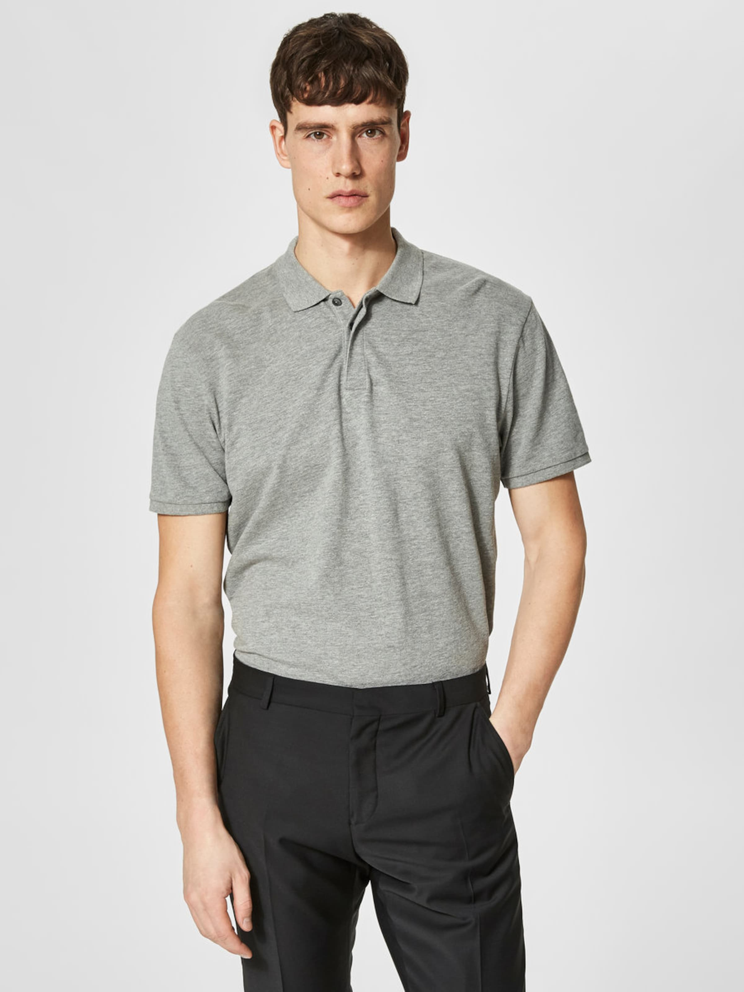 SELECTED HOMME Klassisches Poloshirt Online Kaufen Mit Paypal Offizielle Online GIpnR2iY