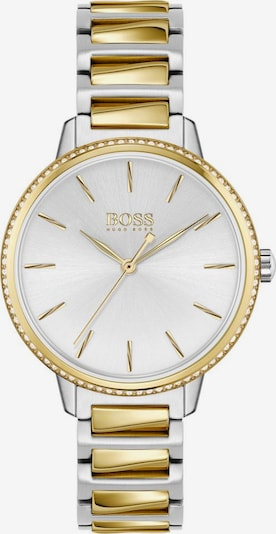 BOSS Analog watch 'SIGNATURE' in gold / silver / white, Item view