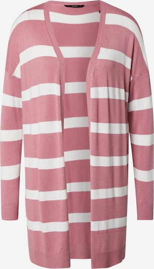 ONLY Strickjacke 'ONLSELENA' in rosa / weiß, Produktansicht