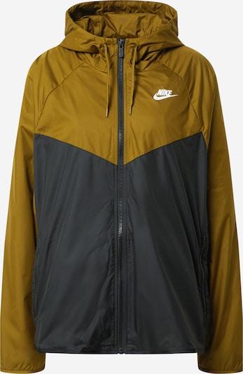 Nike Sportswear Prechodná bunda - olivová / čierna, Produkt