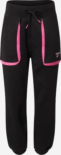 Reebok Classic Hlače u roza / crna / bijela, Pregled proizvoda