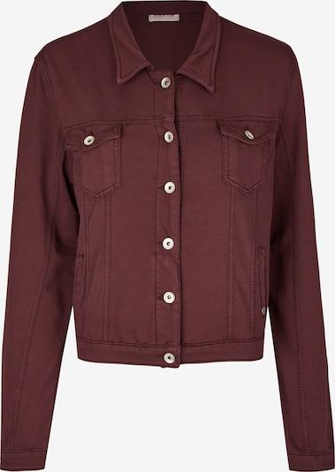 Heimatliebe Jeansjacke in burgunder, Produktansicht