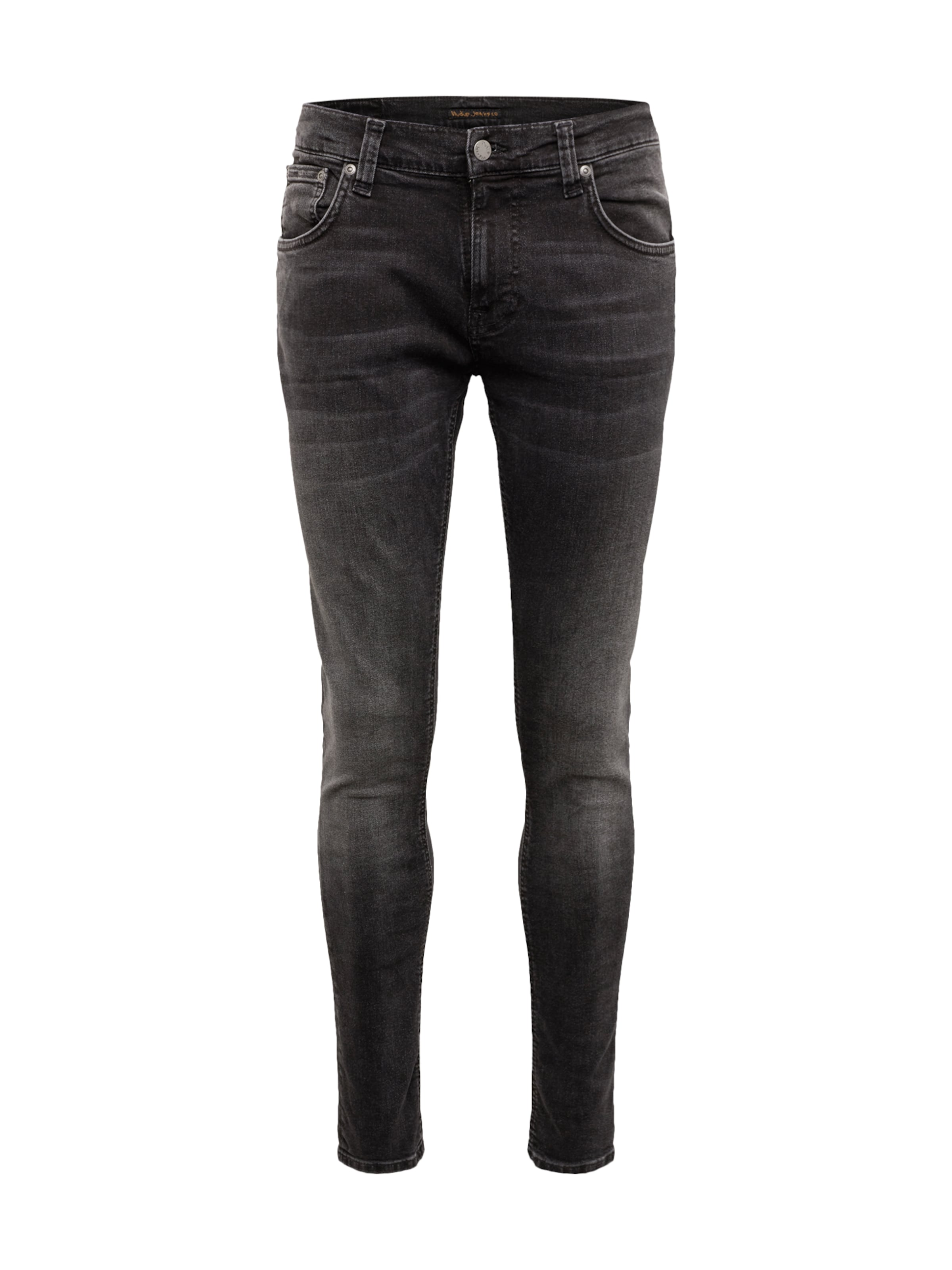 Nudie 'tight Black Denim In Co Terry' Jeans bf7gy6