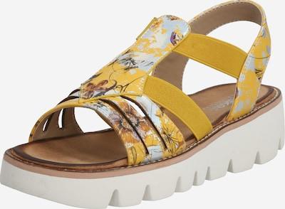 RIEKER Trekingové sandály - opálová / tmavě žlutá, Produkt