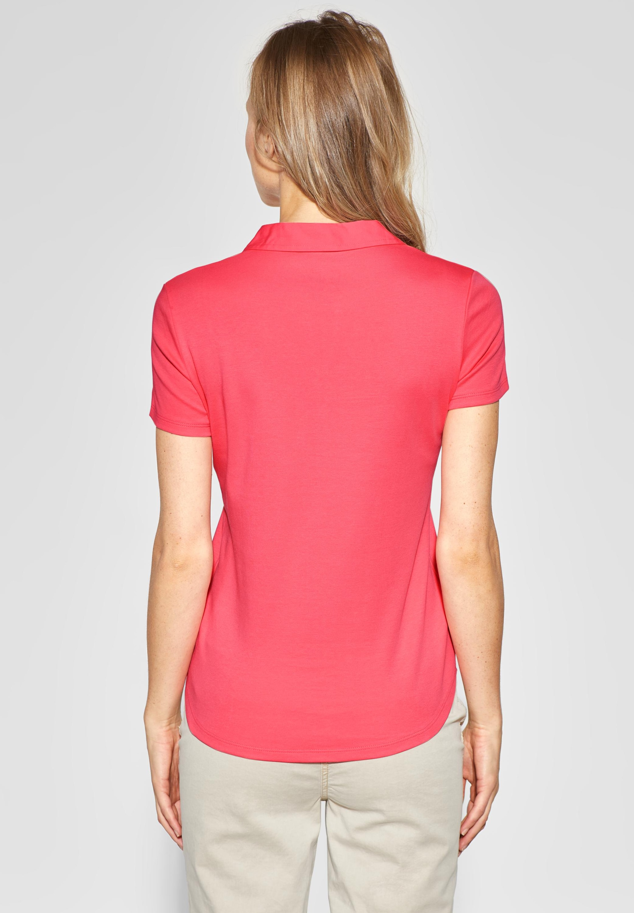 'nele' shirt In Neonrot Polo Cecil CBedxoWrQE