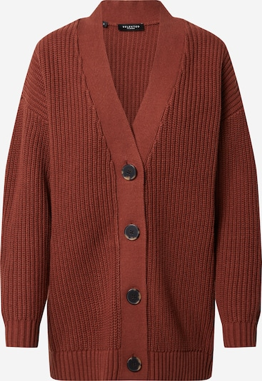 SELECTED FEMME Cardigan 'BAILEY' en rouge rouille: Vue de face