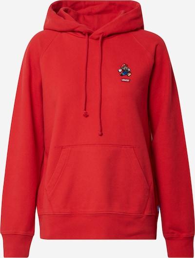 LEVI'S Sweatshirt in rot / weiß, Produktansicht