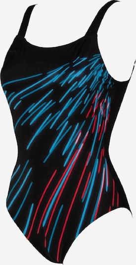 ARENA Badeanzug in mischfarben / schwarz, Produktansicht