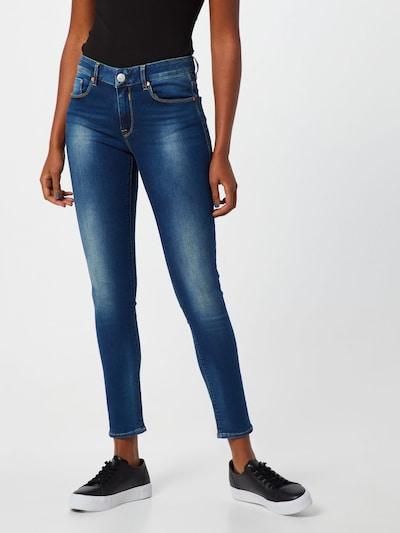 Herrlicher Jeans 'Super G Slim Denim Powerstretch' in de kleur Blauw denim, Modelweergave
