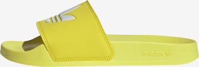 ADIDAS ORIGINALS Plážová/koupací obuv - žlutá / bílá, Produkt