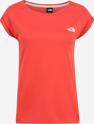 THE NORTH FACE Functioneel shirt 'Tanken' in de kleur Rood / Wit, Productweergave