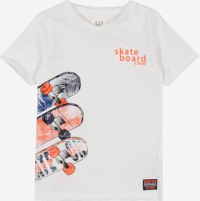 STACCATO Shirt in mischfarben / weiß, Produktansicht