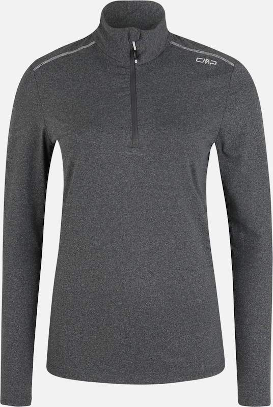 CMP Sport-Sweatshirt 'WOMAN SWEAT' in graumeliert, Produktansicht