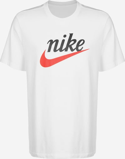 fekete / fehér Nike Sportswear Póló 'Heritage', Termék nézet