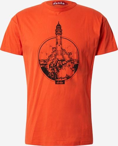 Derbe Majica 'Bell Rock' u narančasto crvena / crna, Pregled proizvoda