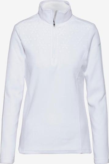 ICEPEAK Fleeceshirt 'Friona' in weiß, Produktansicht