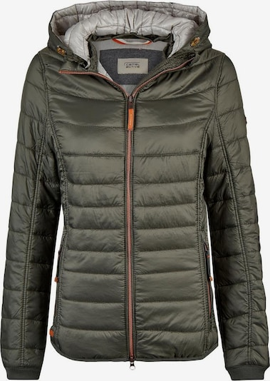 CAMEL ACTIVE Steppjacke in khaki / orange, Produktansicht