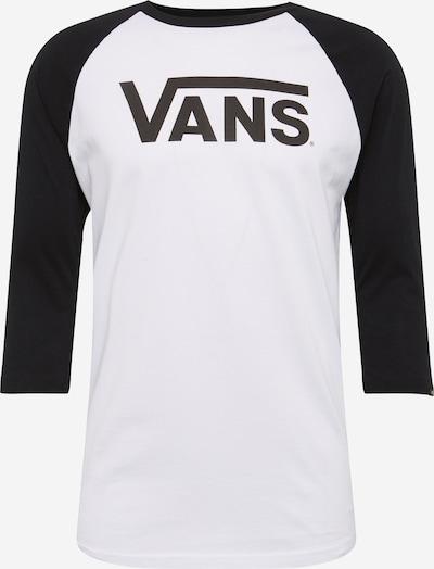 VANS Shirt in de kleur Zwart / Wit, Productweergave