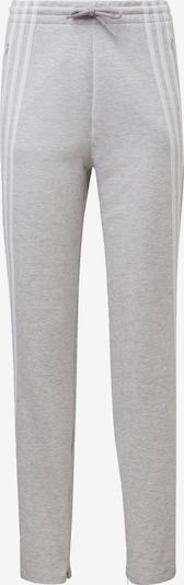 ADIDAS PERFORMANCE Sportbroek in de kleur Grijs / Wit, Productweergave