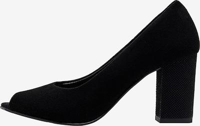 Usha Peeptoe in schwarz, Produktansicht