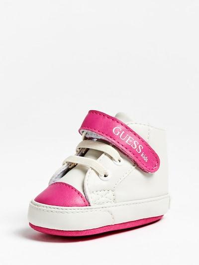 GUESS KIDS Sneaker in rosa / weiß, Produktansicht