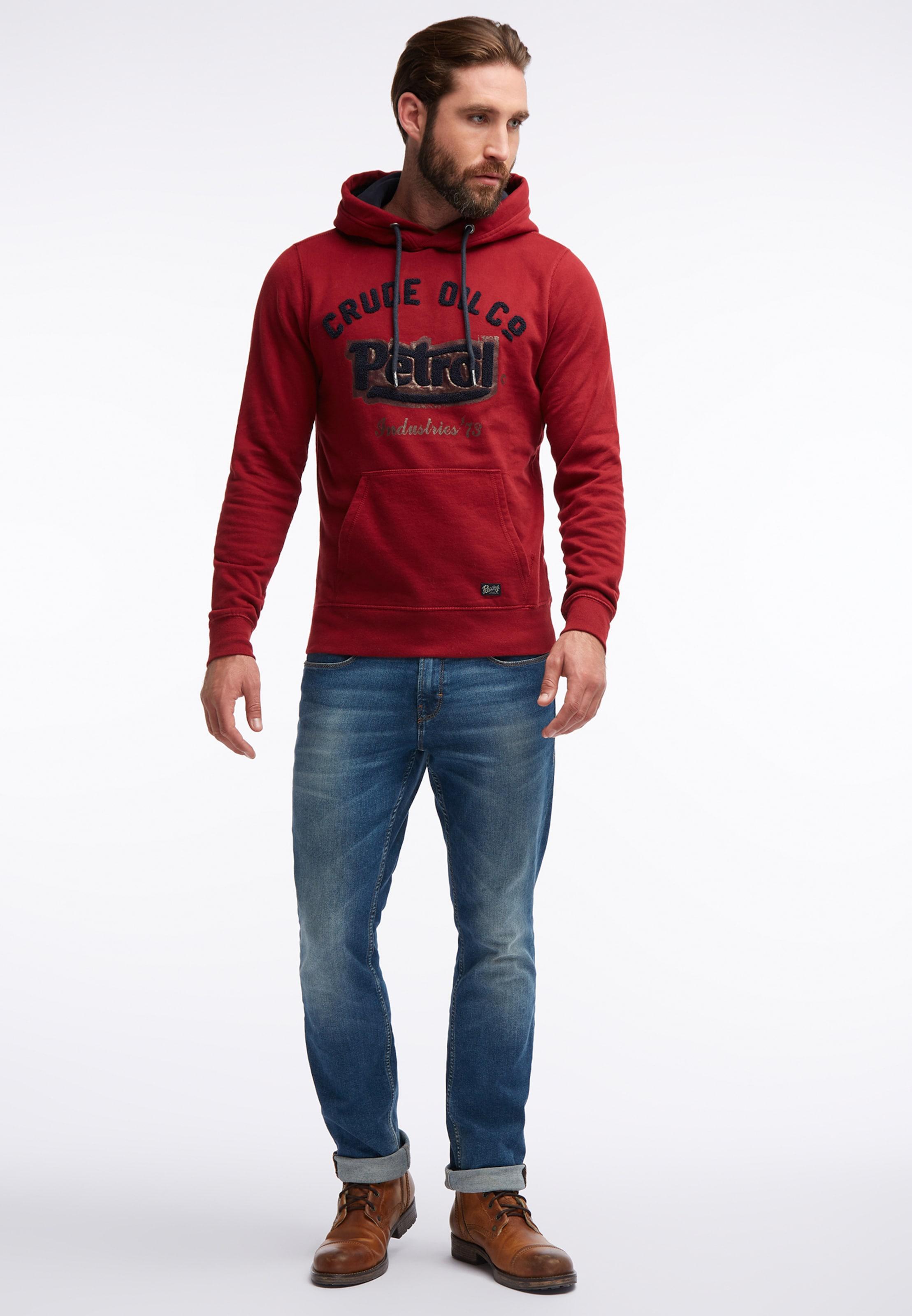 Sweater In Industries Petrol RotSchwarz HW2I9DYeE