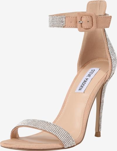 Sandale cu baretă 'Mischa' STEVE MADDEN pe pudră / argintiu, Vizualizare produs