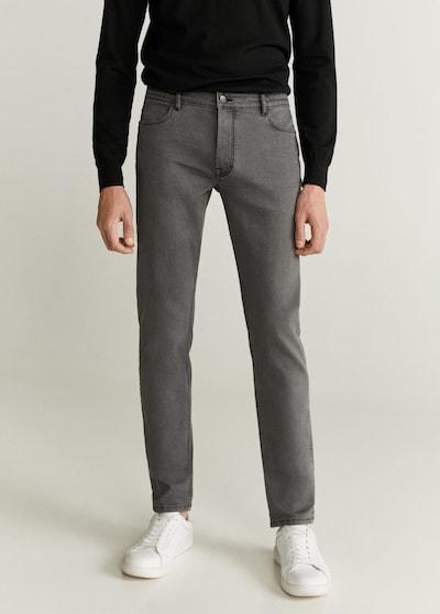 MANGO MAN Jeans 'patrick6' in hellgrau, Modelansicht