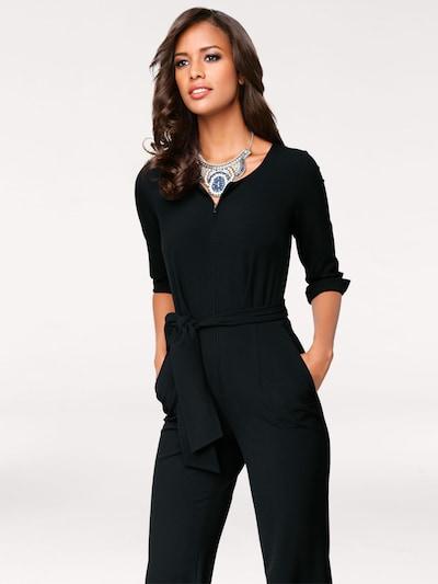 heine Overall in schwarz, Modelansicht