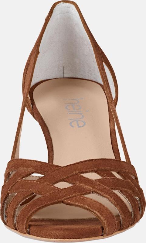 heine Sandalette aus Veloursleder